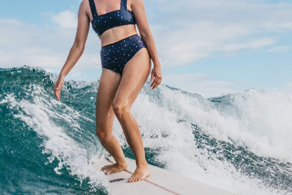 Salt Gypsy - An amazing little brand I found on my last trip to Byron Bay, this label makes all of their garments from regenerated nylon in ethical factories and have been rated among the best sustainable brands in Australia. These swim/surf pieces are definitely for those of you who spend hours and hours in the surf and sand, and they're designed for movement in mind.Shop the collection.