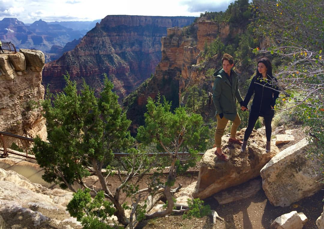 Feeling pretty GRAND.   #bennetts2pdx  (at Grand Canyon National Park)