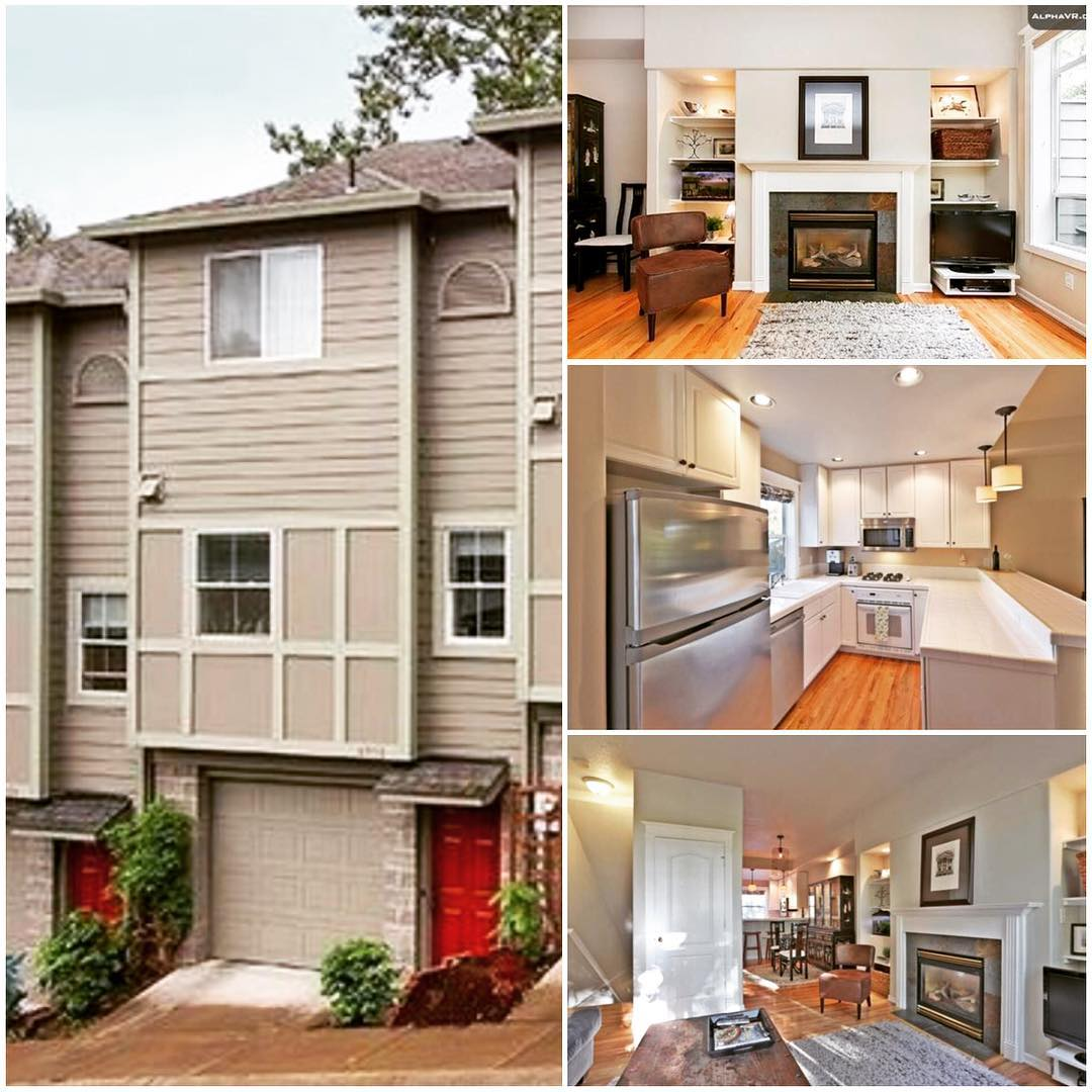 Our new Portland pad!  Thank you so much for your prayers.  God allowed us sign a lease on an awesome new townhouse.  It's priced a good bit lower than almost everything we've seen, it's 8 minutes to the (future) church and 3 minutes from my favorite bakery.  God is good…. 😄🙌🏻🙏🏻