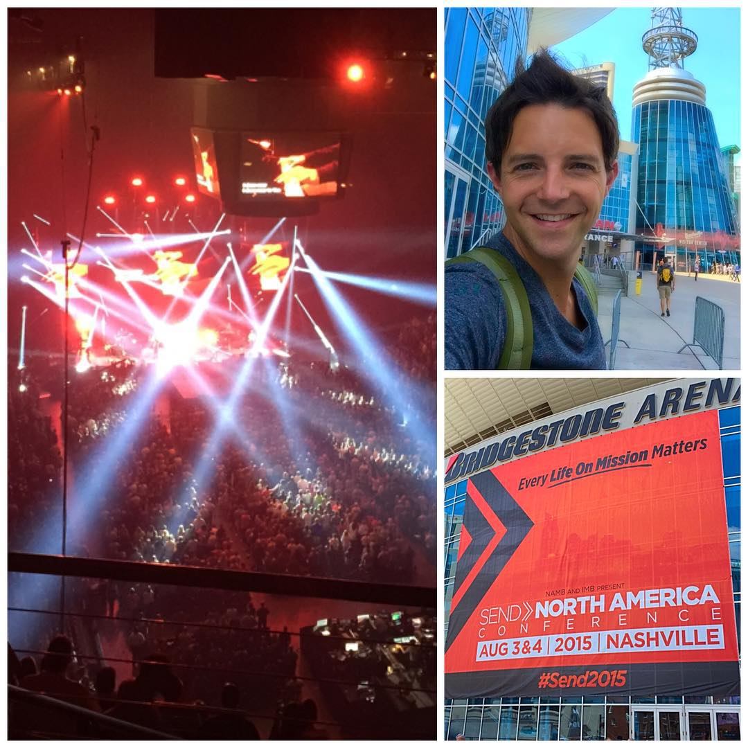 Grateful to be in Nashville for the Send North America Conference.    #send2015