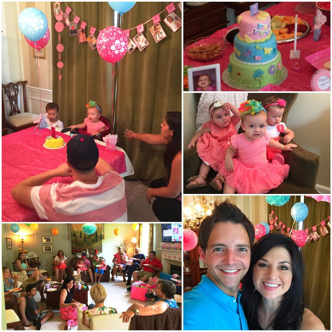 awesome time at my niece's 1st bday party!  love that Lily.