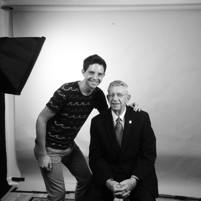 I got to interview Searcy Jackson this morning.  He was the pastor of @bpbc in 1958.  Awesome man of God!