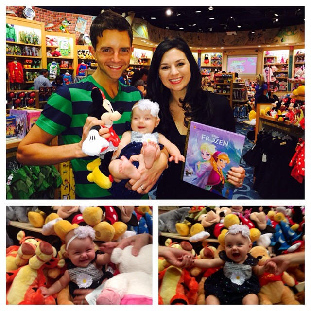 First trip to the Disney store with #valentinealise