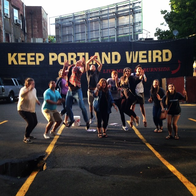We made it!  #pdx14