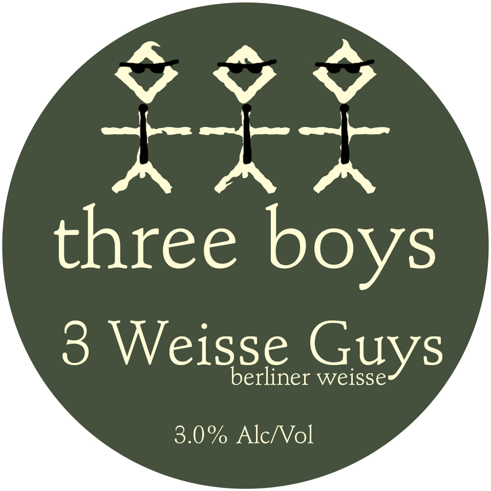 Three Weisse Guys - 3% ABV