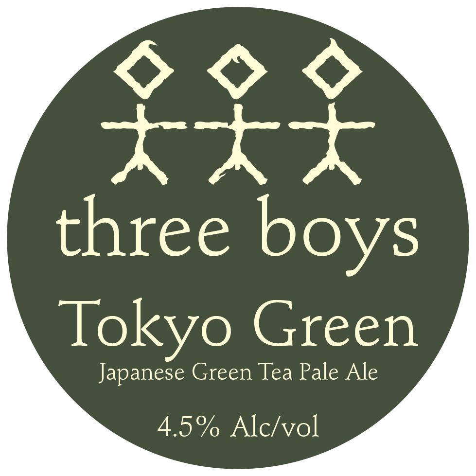 Tokyo Green, Japanese Green Tea Pale Ale - 4.5% ABV
