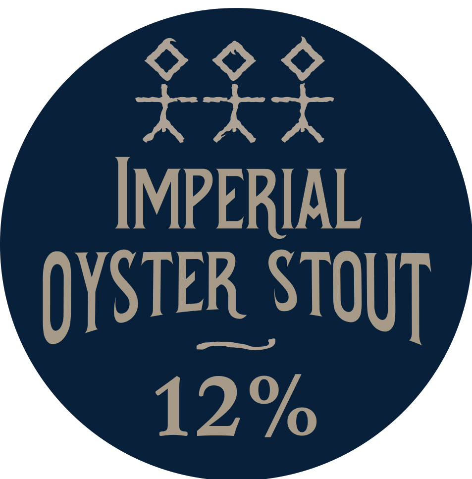 Imperial Oyster Stout - 12% ABV