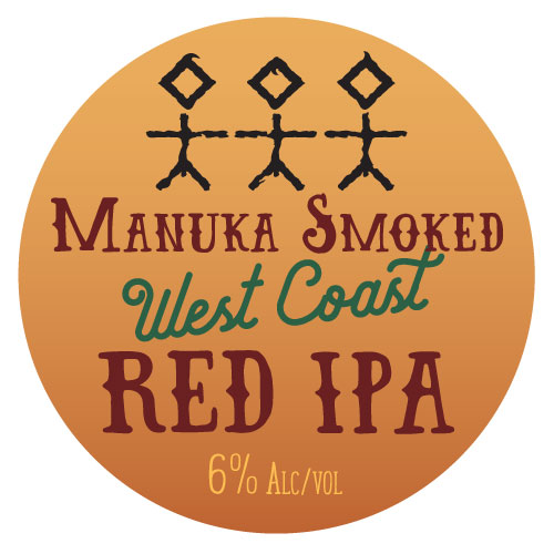 Manuka Smoked West Coast Red IPA - 6% ABV