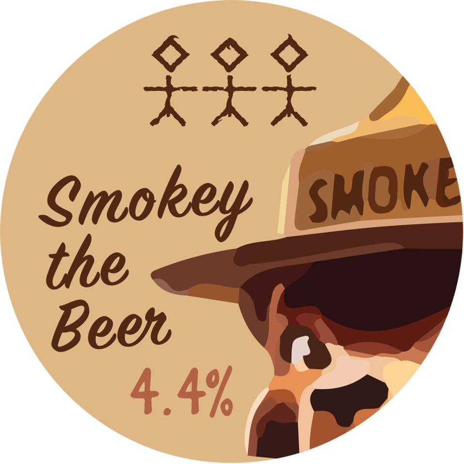 Smokey the Beer - 4.4% ABV