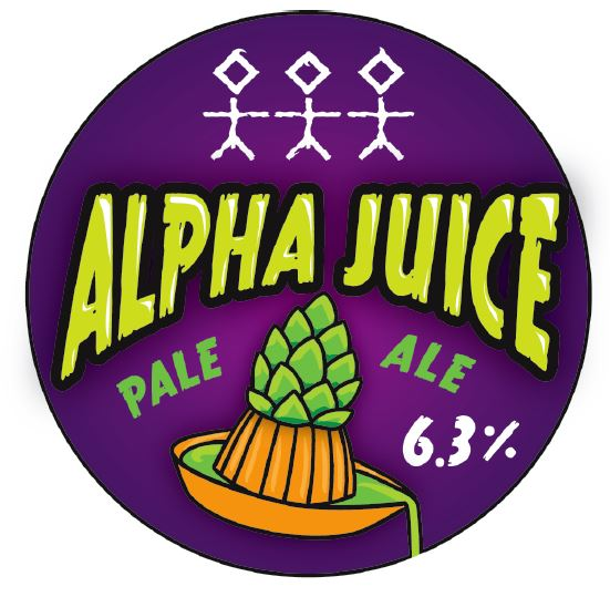 Alpha Juice 3.0 The Third Squeeze - 6.3% ABV