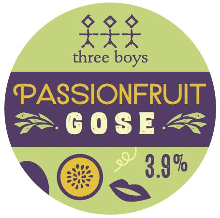 Passionfruit Gose - 3.9% ABV