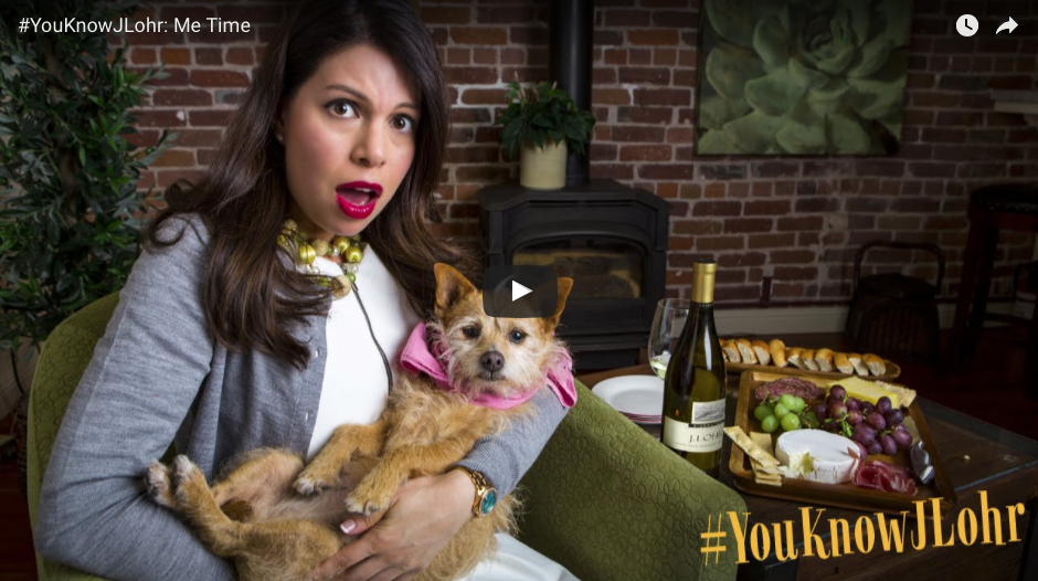 """I don't always write about my copywriting career, but then again, I don't always get to cast my dog, Mavis, for the role of """"spoiled Terrier mix.""""To watch the latest Juice Media videos written by Yours Truly,scroll down."""