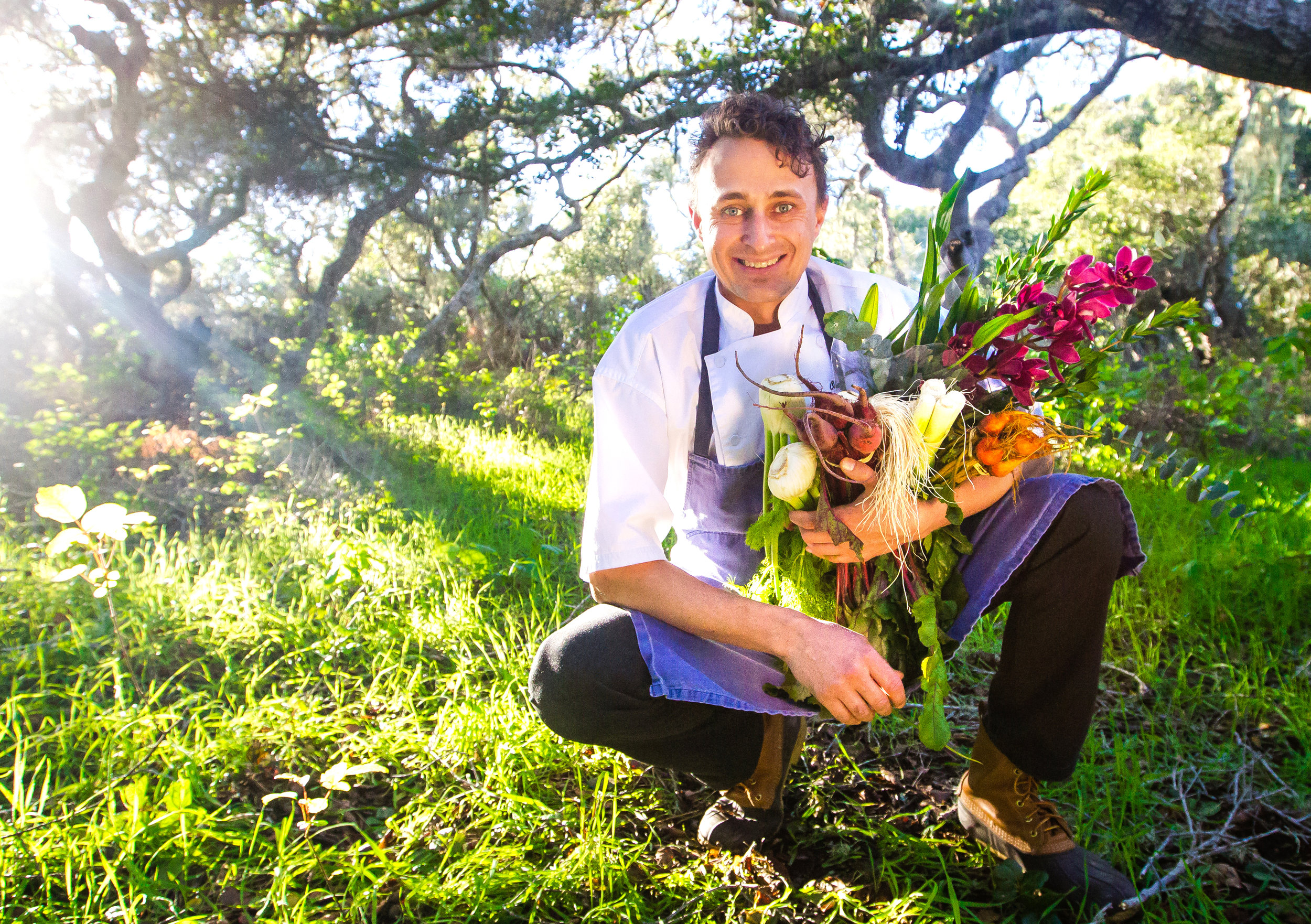 FEED YOUR LOVE    Danior Kitchen owner/chef Spencer Johnston has come a long way since starting out at Paso Robles' Bistro Laurent some 18 years ago. Today, the creative, ultra-seasonal chef crafts incredible menus for some of the region's top winemakers and foodie friends.    PHOTO BY JAYSON MELLOM