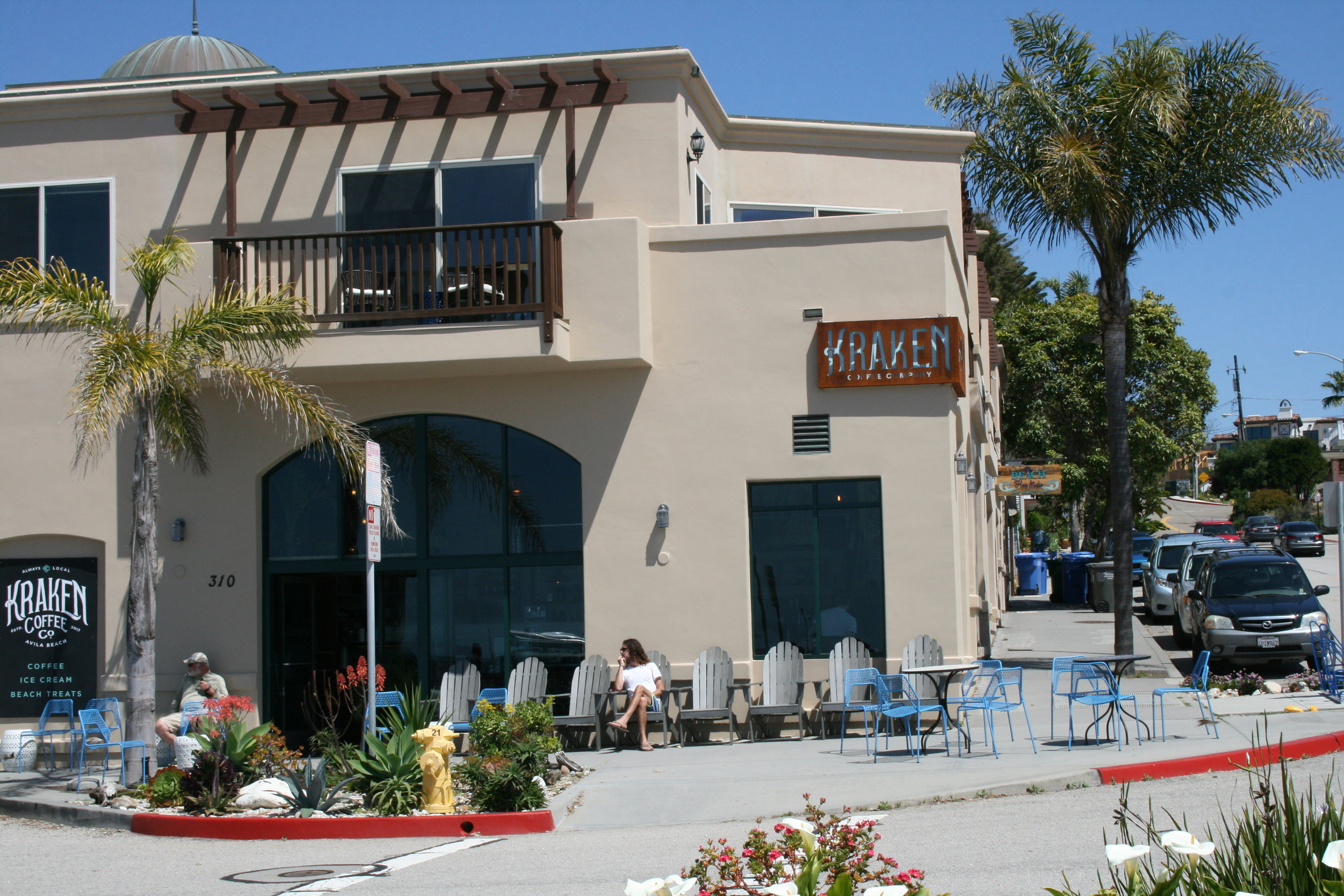 Get your sea legs    Kraken Coffee Co. is located at 310 Front St. in Avila Beach. For more information and hours, call 439-1177 or visit the business on  Facebook .