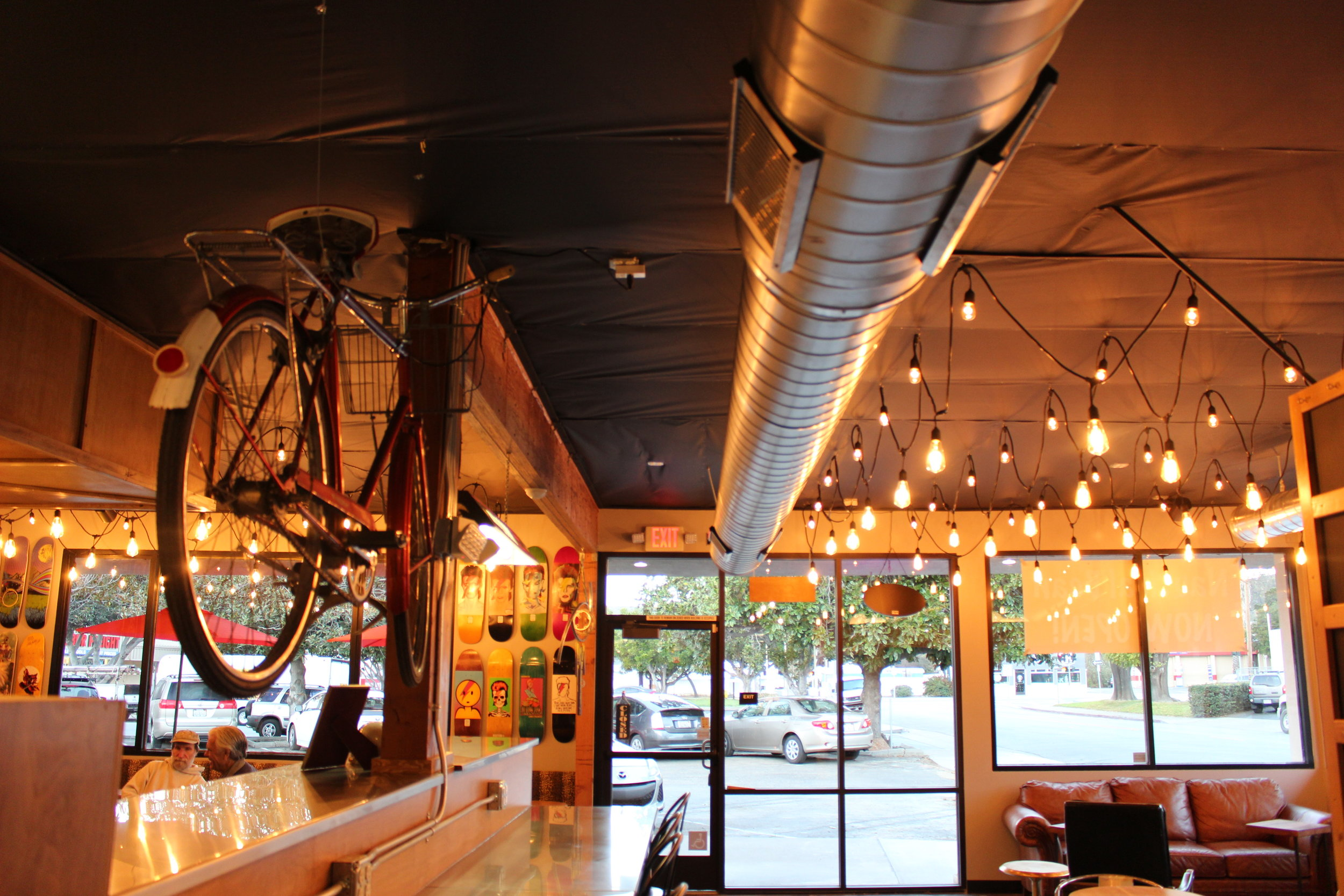 Photo Courtesy Of Nora Murphy  Nautical Bean's new location on Parker St. in SLO.