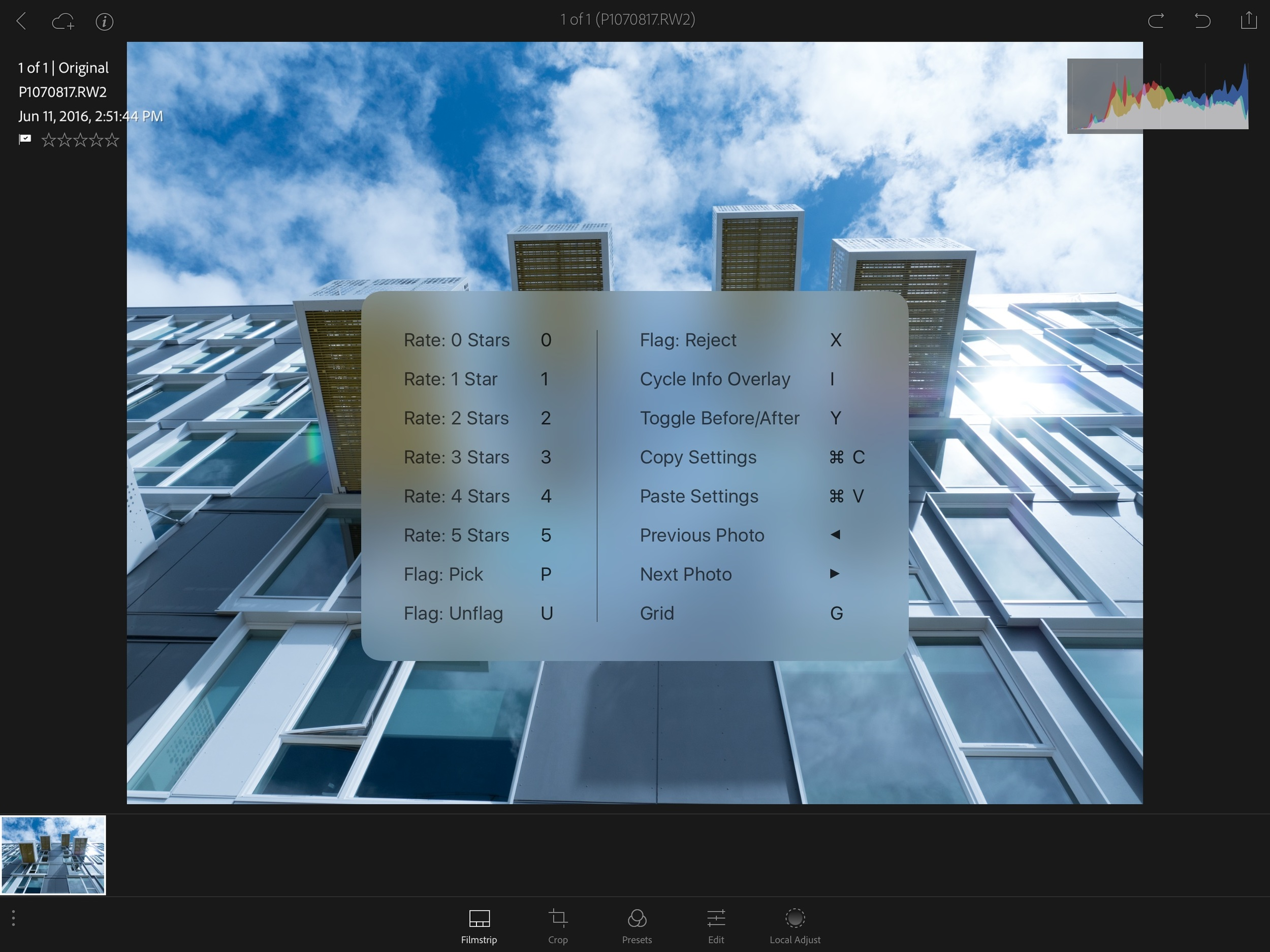 Keyboard Shortcuts for iPad Pro