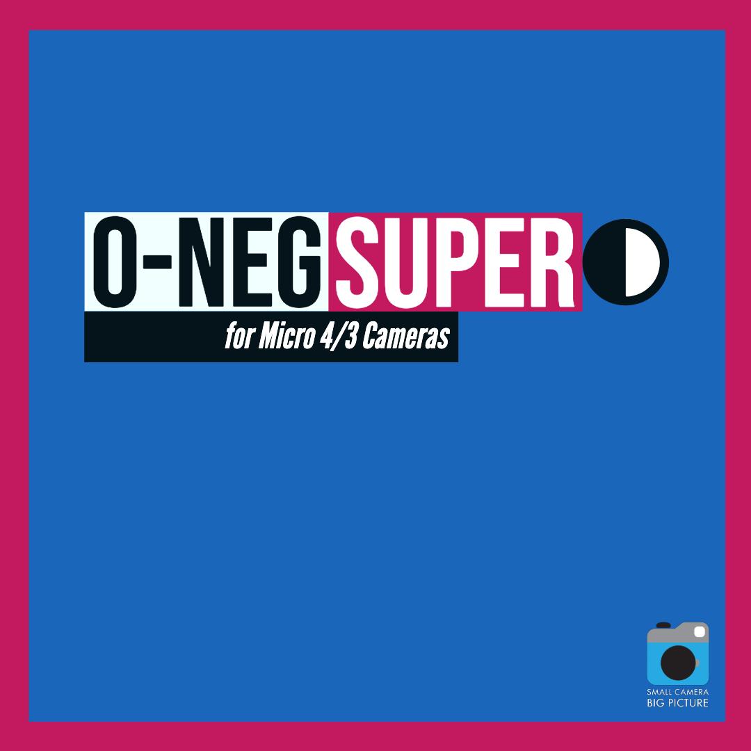 O-Neg Super Logo Square