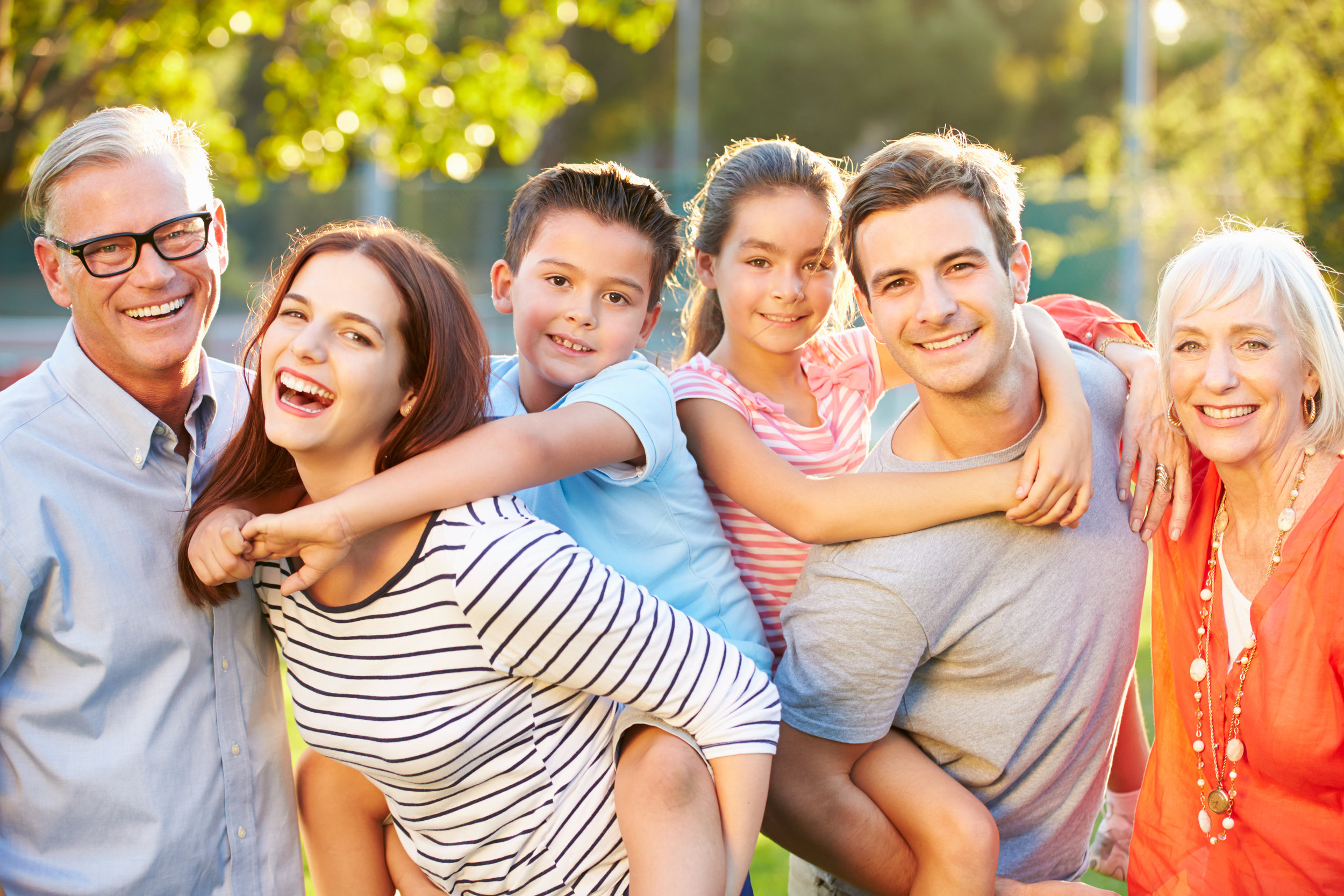 Chiropractic care benefits the whole family at their different stages of life. Our practice welcomes everyone!