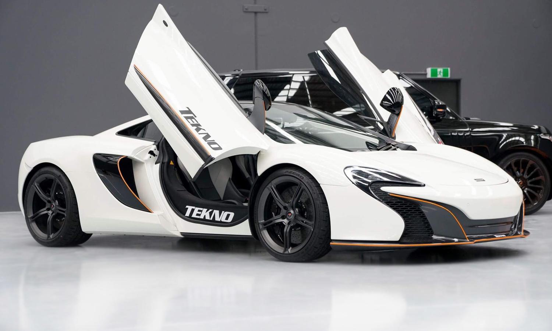 TEKNO X McLaren 650s