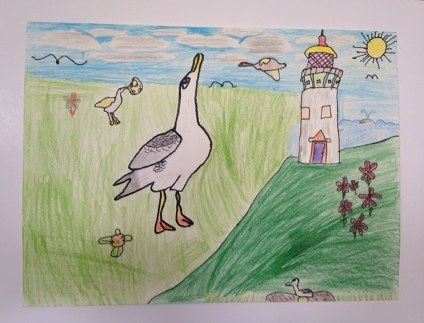 Third Place:  Phoebe McClintic, 4th Grade, Kanuikapono PCS