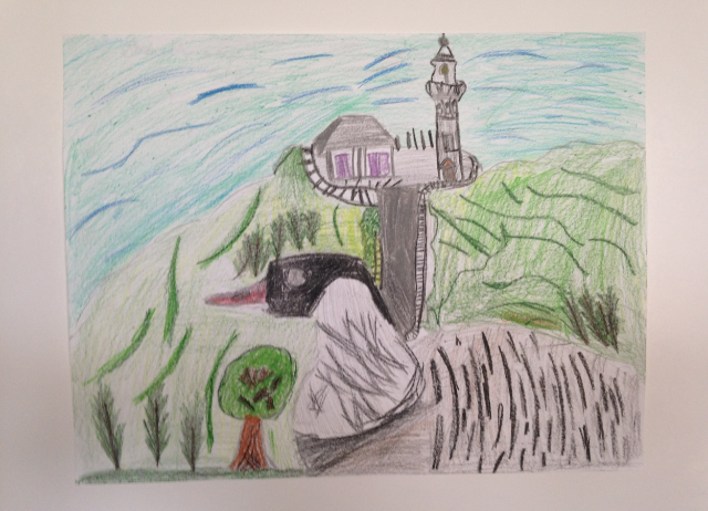 Honorable Mention:  Trachelle Iwamoto, 6th Grade, Kapaa Middle School
