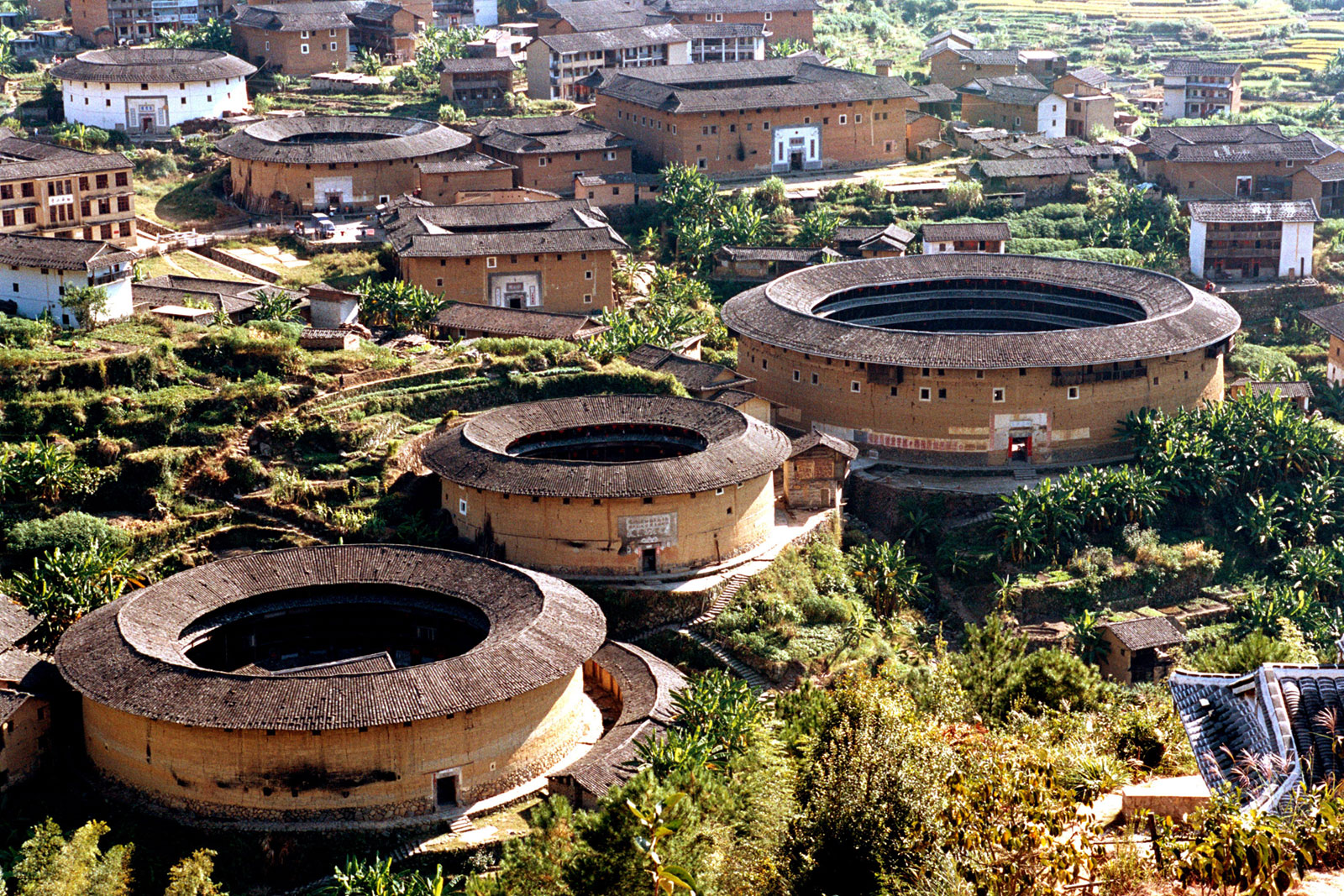 Tulous, Hakka Round Earth Buildings