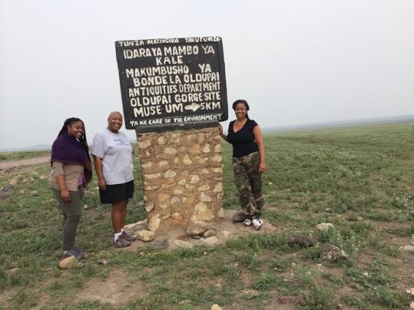 Us at Olduvai Gorge