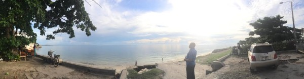 Panoramic View of the Indian Ocean