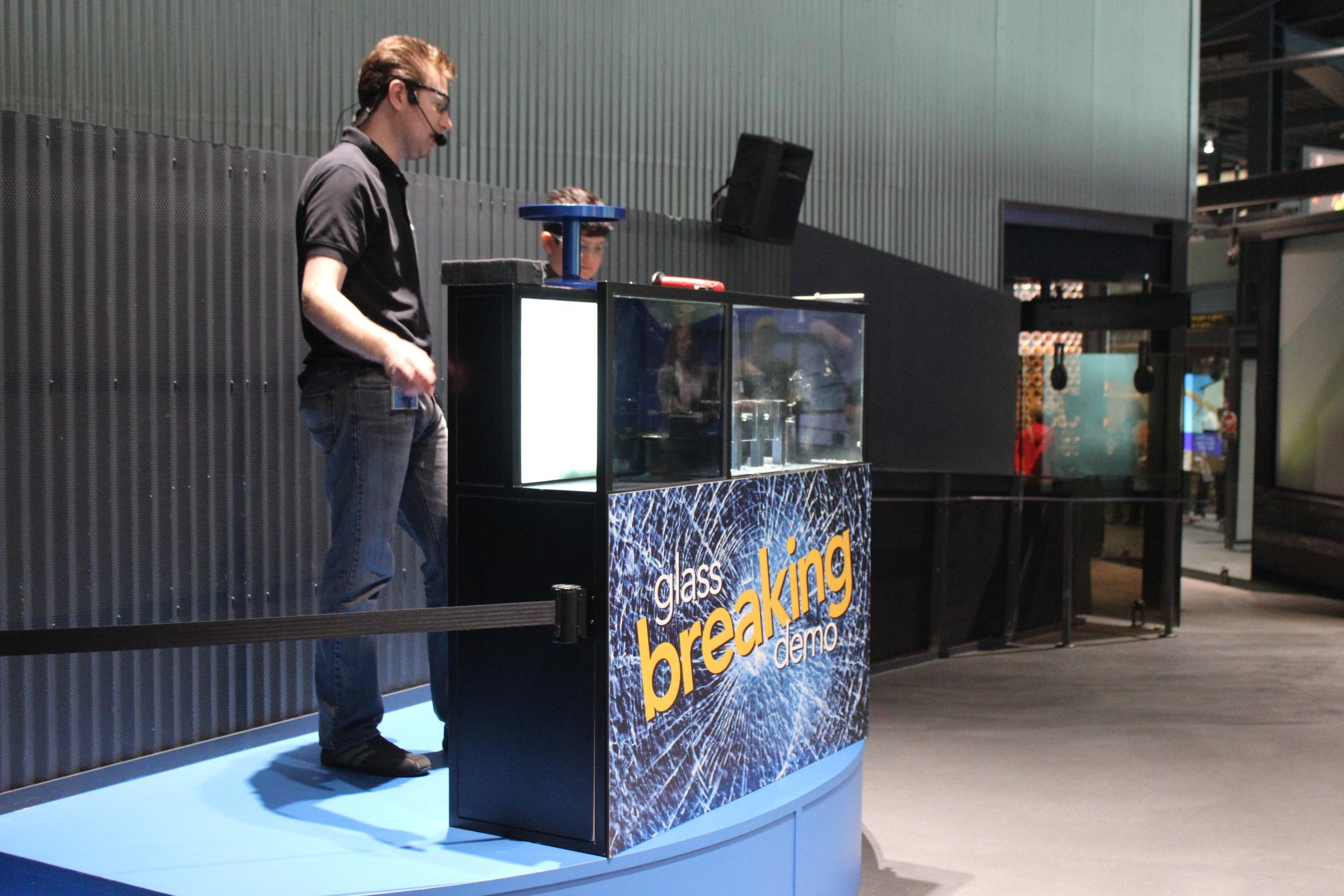Glass-Breaking Demo