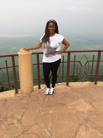 At the Ngorongoro Crater in Tanzania