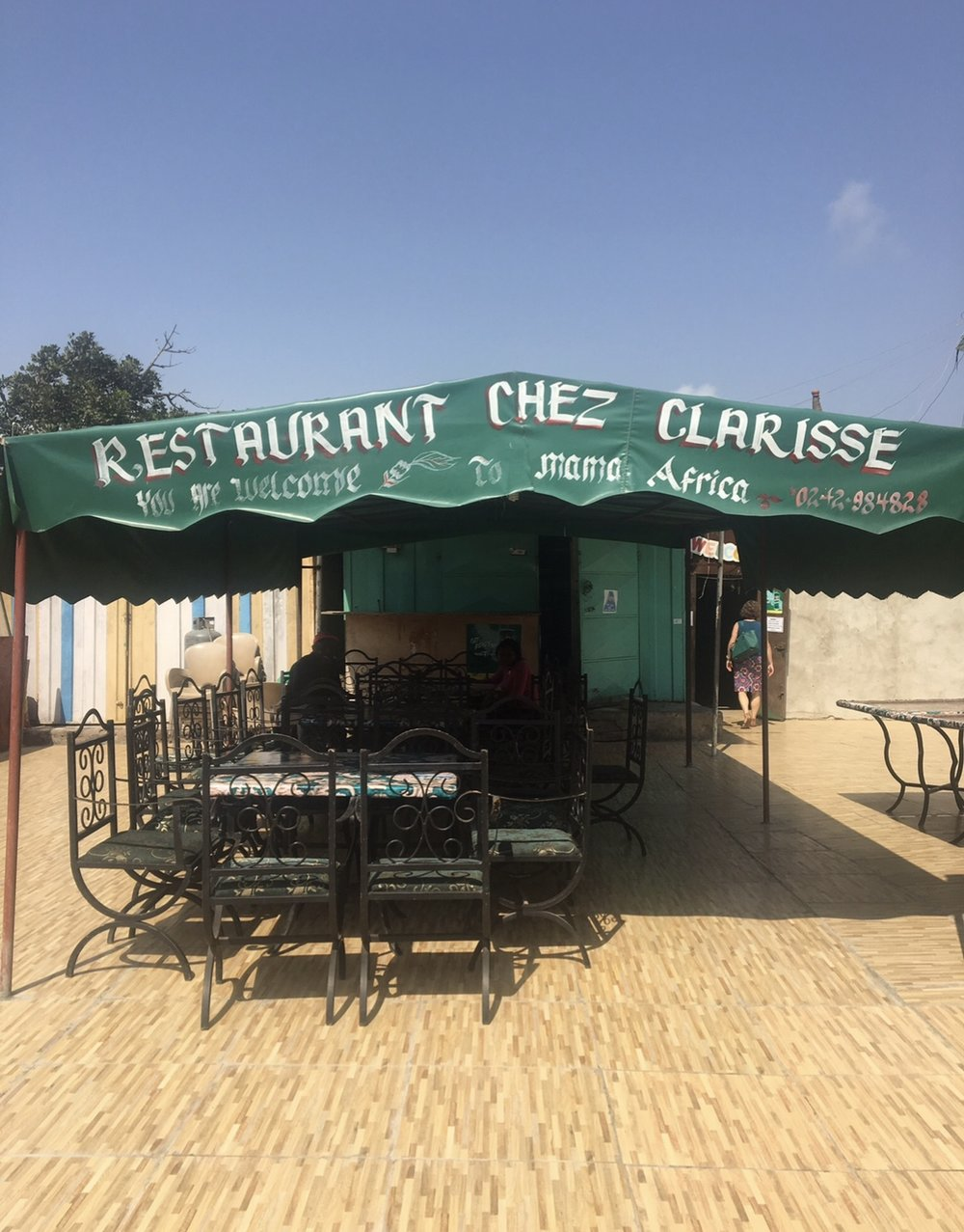 If you're in Accra, go to Chez Clarisse! The food is soooo good.