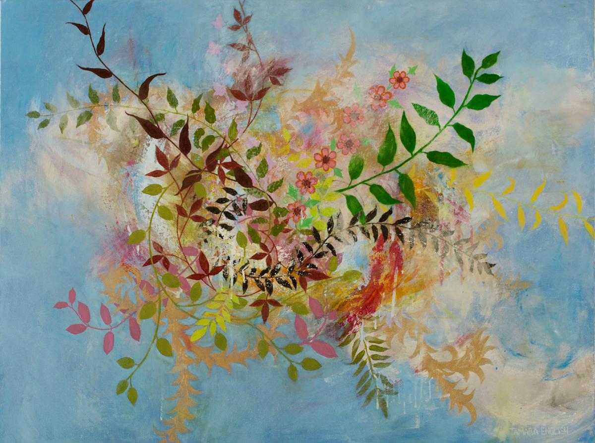 Rhapsodic I Oil on canvas 30 x 40 inches/ 76 x 102 centimeters