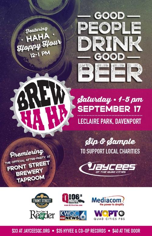 Brew Ha Ha Poster Design