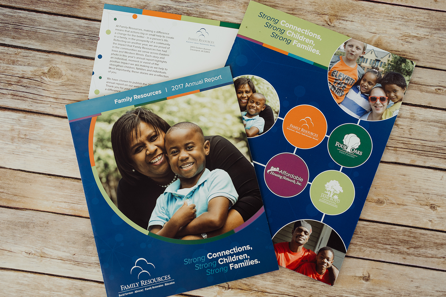 Family Resources, Four Oaks, AHNI & Jane Boyd Annual Report