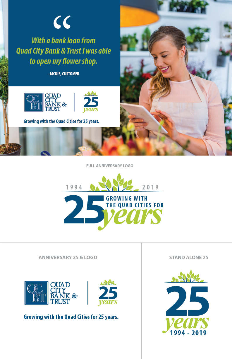 Quad City Bank and Trust 25th Anniversary