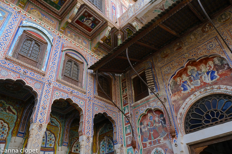 Haveli#Shekhawati#frescoes