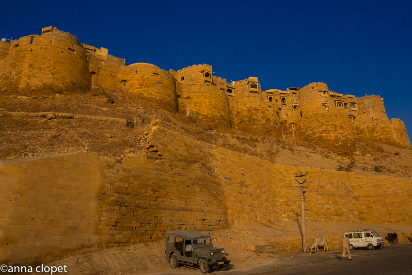 Jaisalmer Fort in the early morning