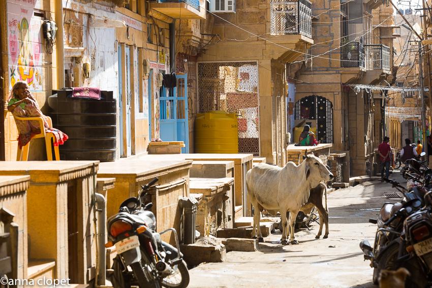 street scene Jaisalmer#