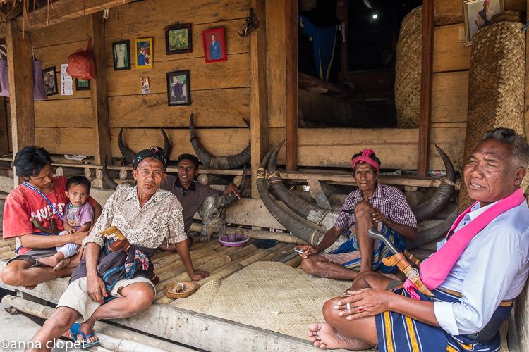 Sumba#tribal village#family#house