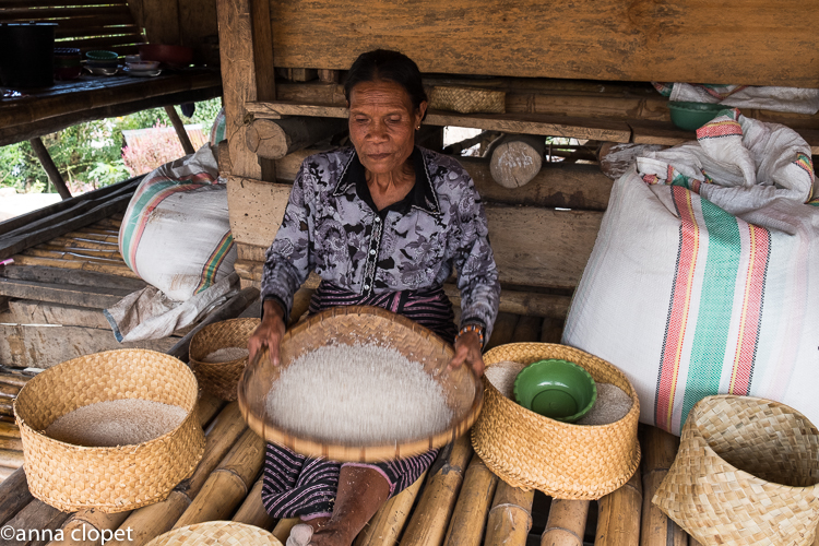 Sumba#woman#rice#