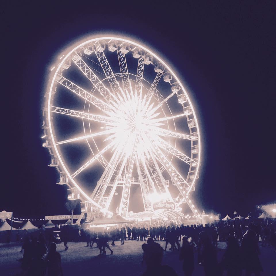 Coachella Ferris wheel - Photo by Austin Benton