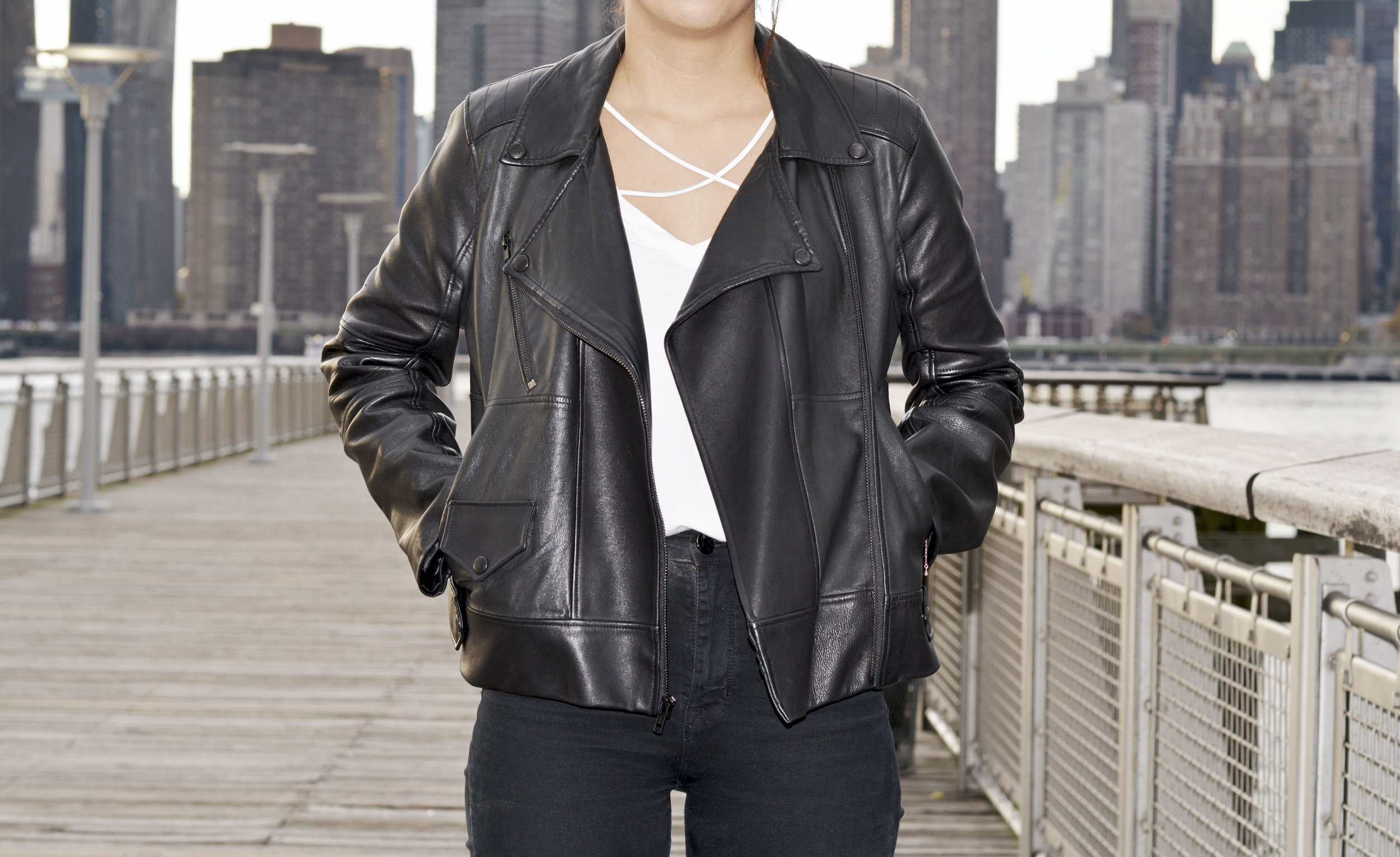 Leather Jacket - Made from lambskin