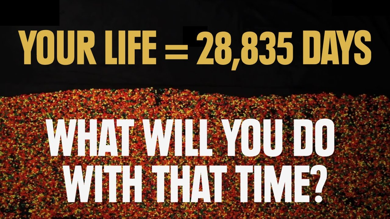 The Time You Have Left (in Jellybeans)  This one will really get you thinking!