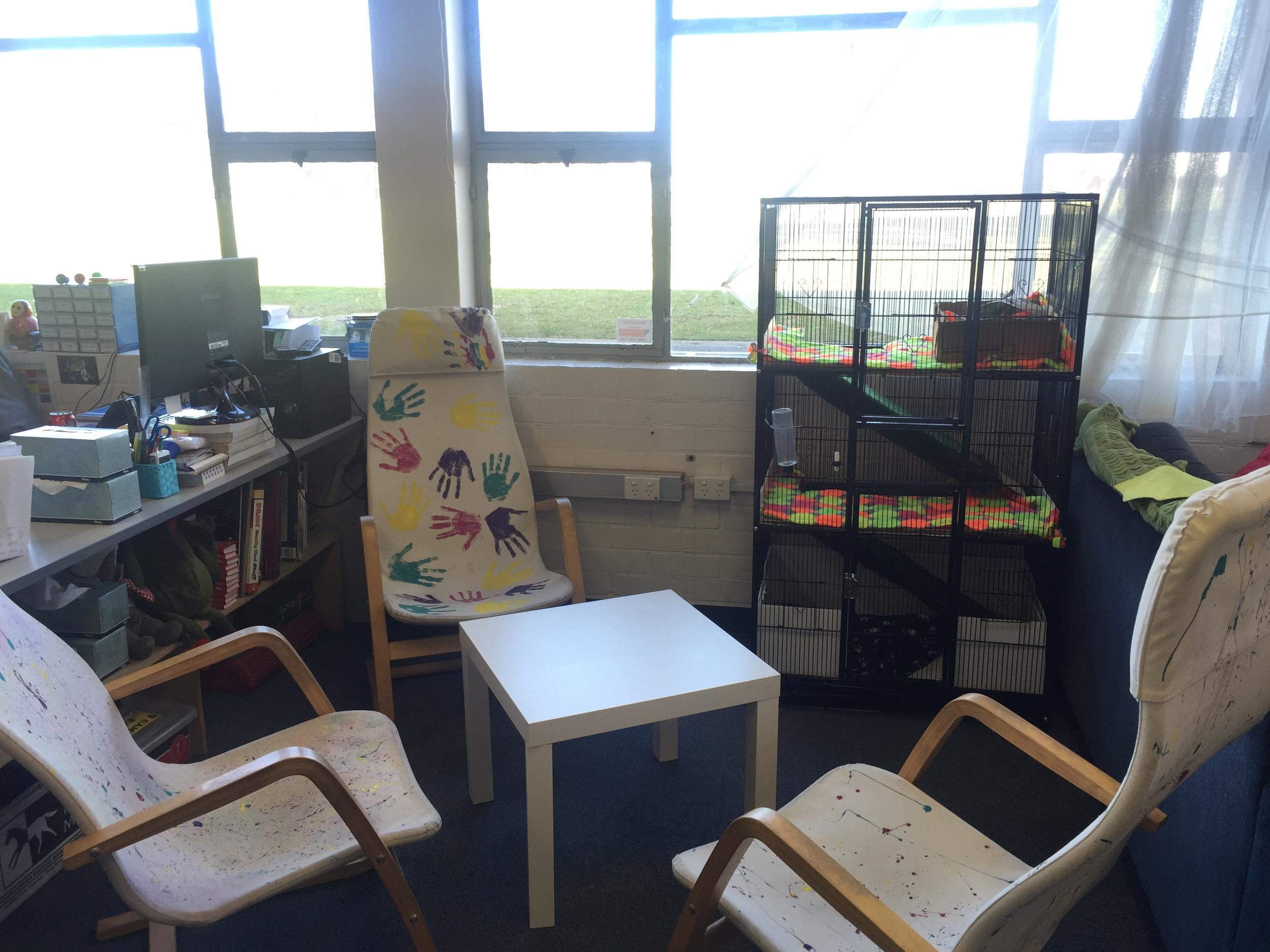 Collaborative Seating Area