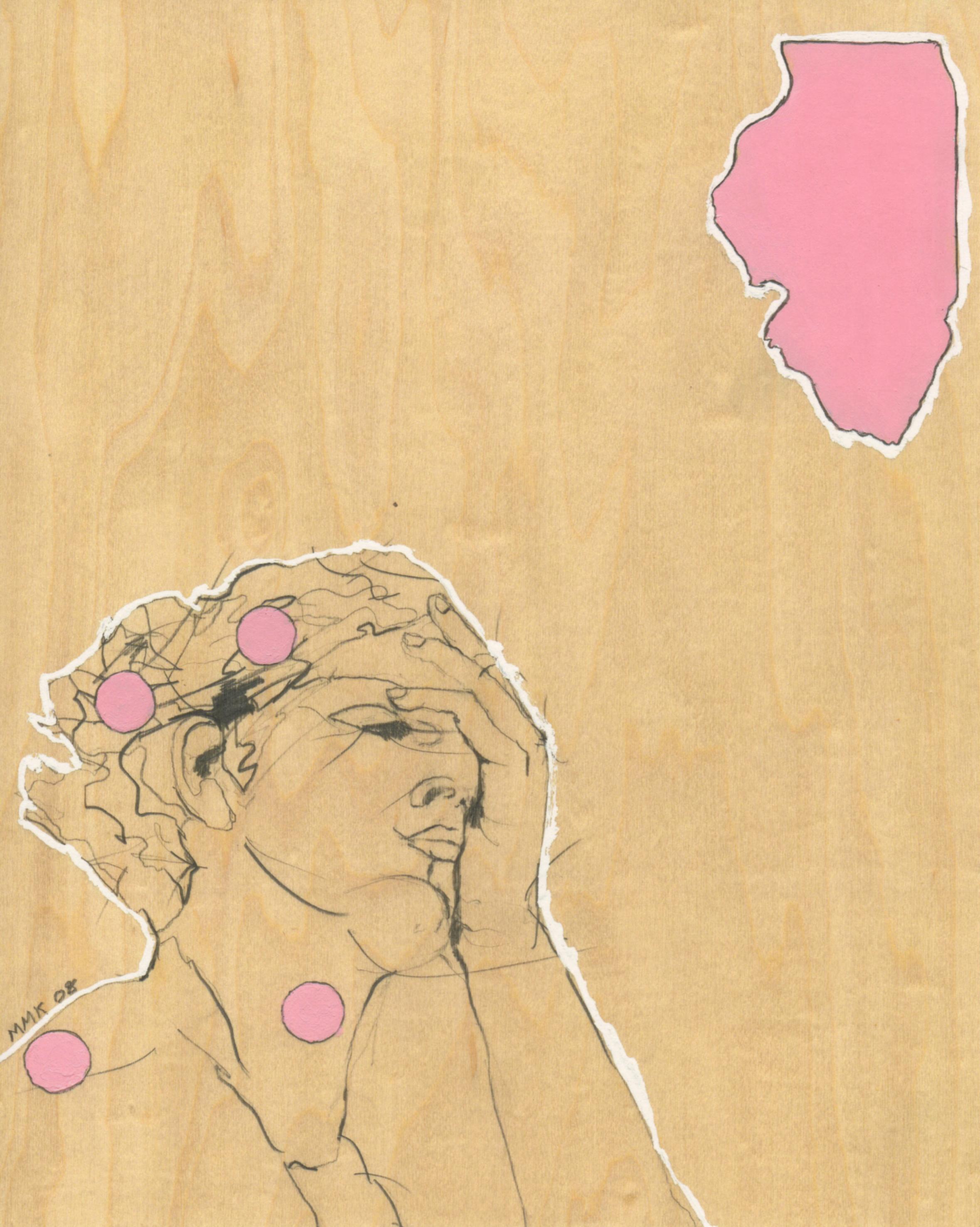 """Illinois"" Archival Giclee Print"