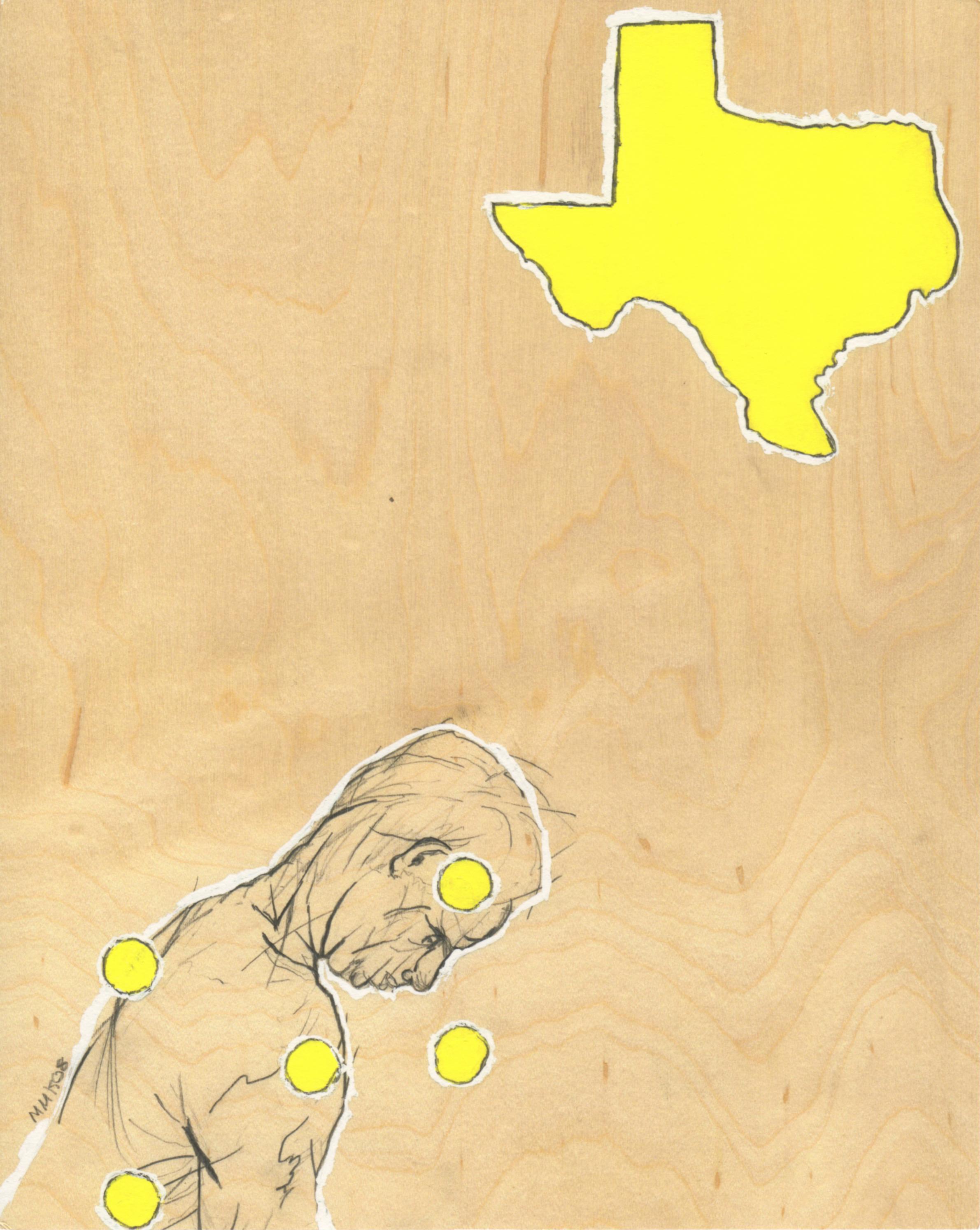 """Texas"" Archival Giclee Print"