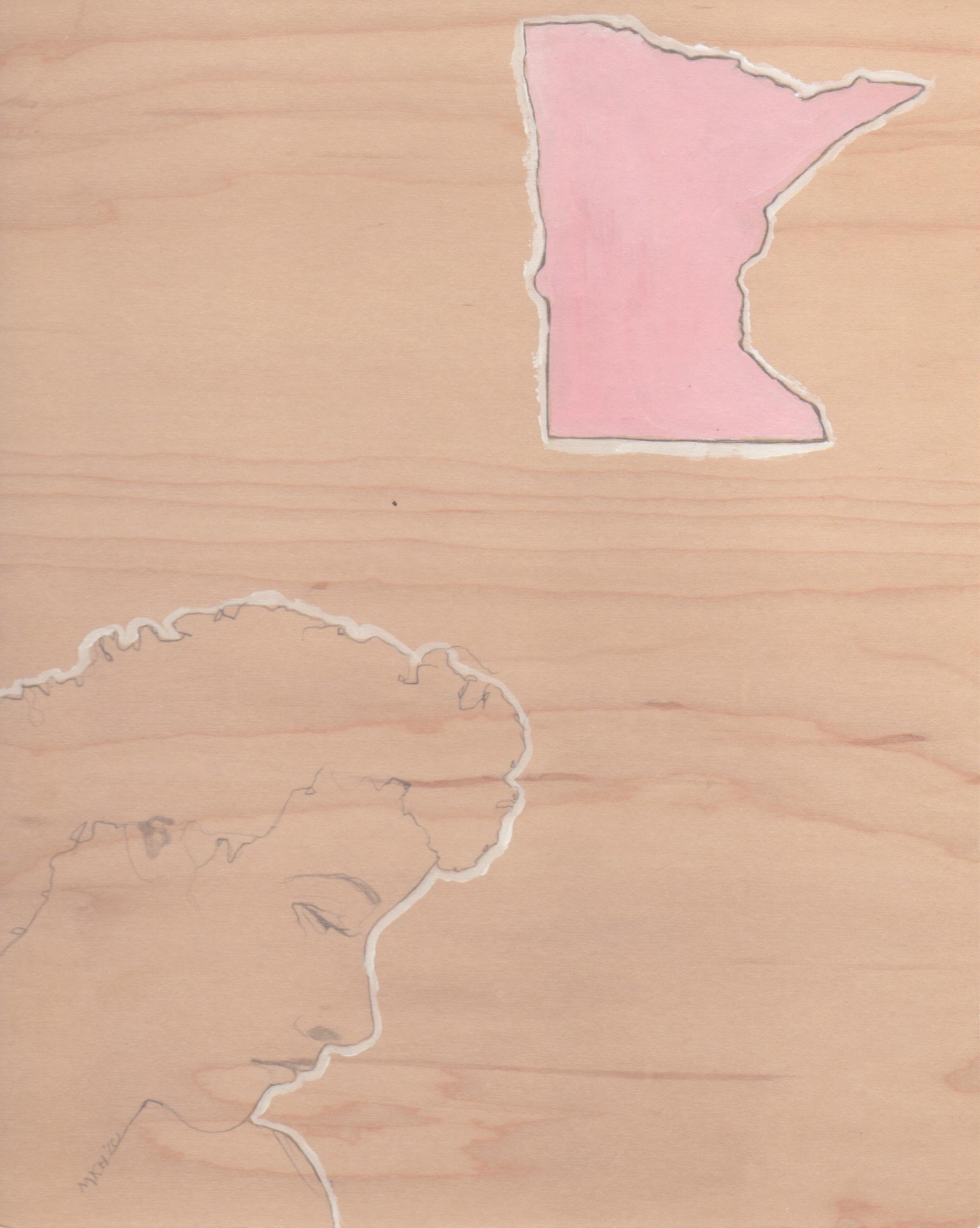 """Minnesota"" Archival Giclee Print"