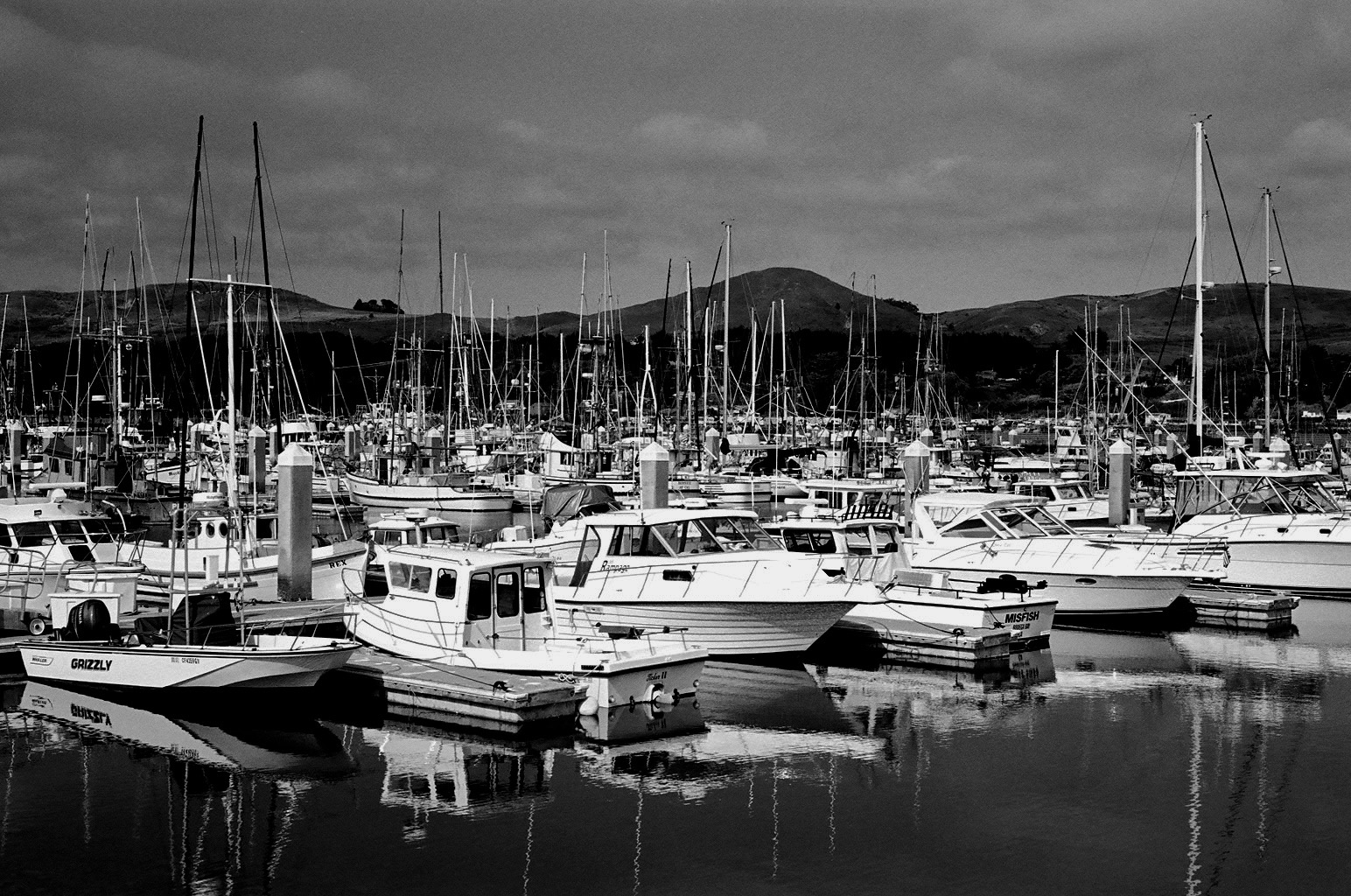 This is Spud Point Marin in Bodega Bay shot with my Leica M3
