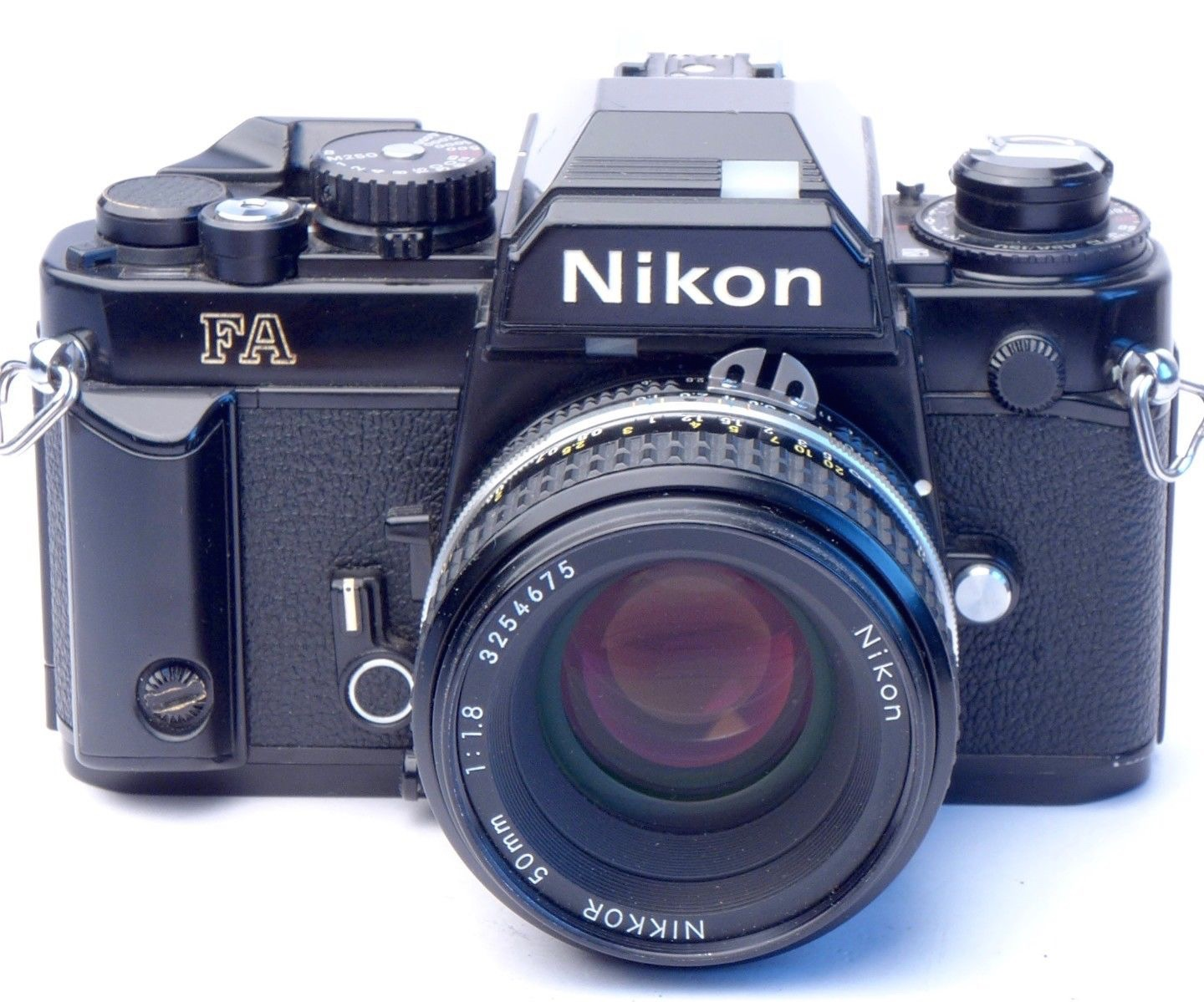 Nikon FA with 50mm f/1.8 Nikkor
