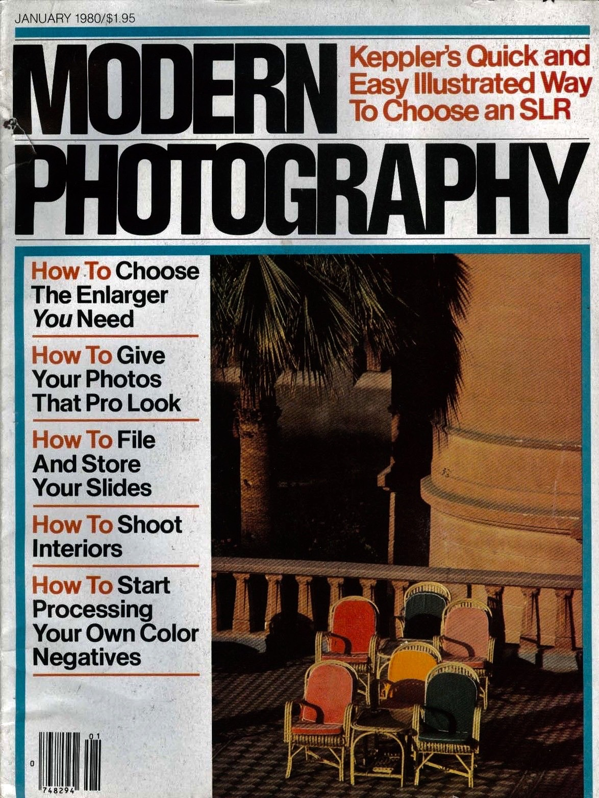 I subscribed to the now defunct Modern Photography magazine from 1973 to around 1980